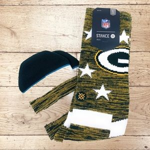 Stance NFL Green Bay Packers Banner Athletic socks